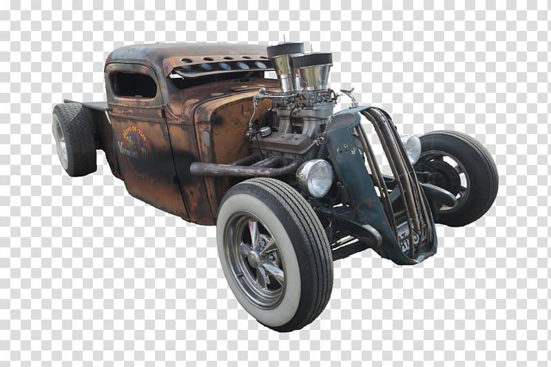 Car Pickup truck Rat rod Hot rod Motor vehicle, hot rod.