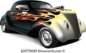 Hot rod Clip Art Royalty Free. 1,551 hot rod clipart vector EPS.