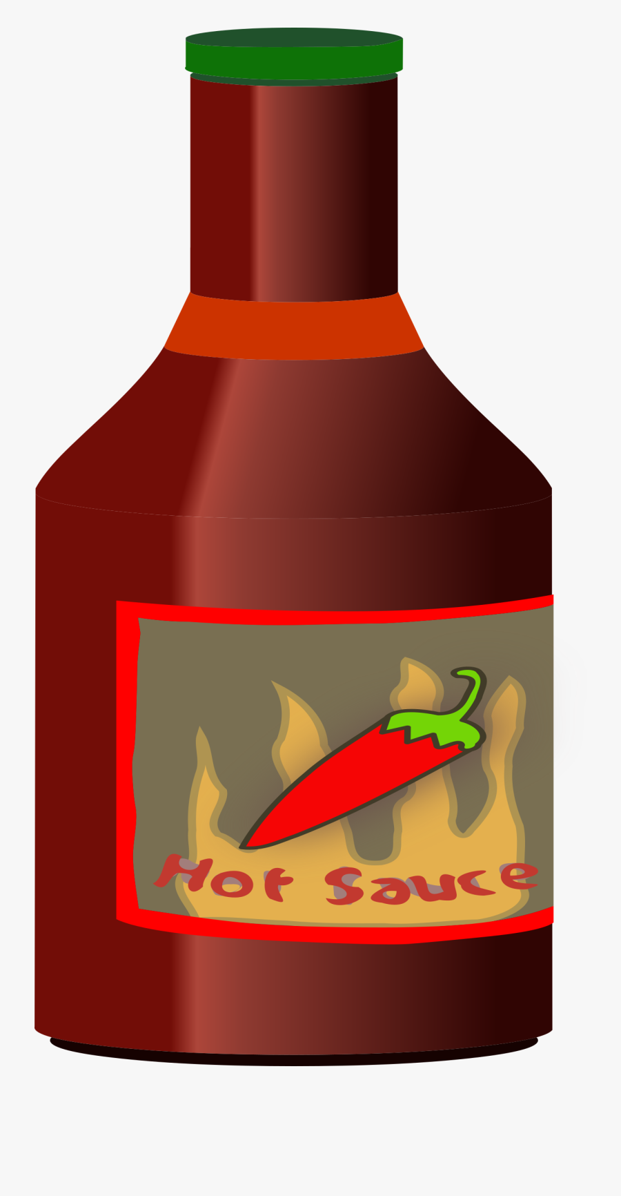 Chili Drawing Hot Sauce.