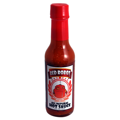 Red Robot Classic Hot Sauce.