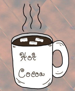 Free hot chocolate clip art by SchoolBoxTreasures.