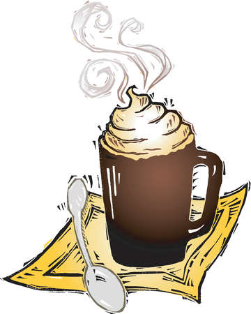 Mexican Hot Cocoa Clipart.