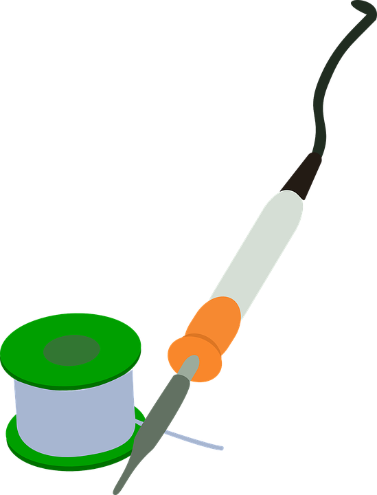Free vector graphic: Solder, Iron, Circuit, Soldering.