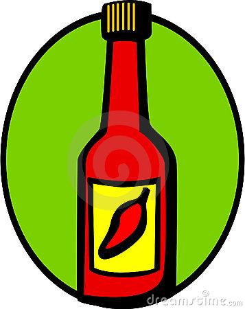 Hot Sauce Bottle Stock Illustrations.