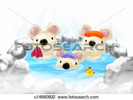 Hot spring Stock Illustration Images. 1,455 hot spring.