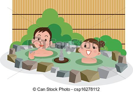 Hot springs clipart - Clipground