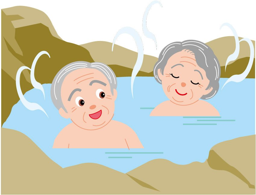 Hot springs clipart.