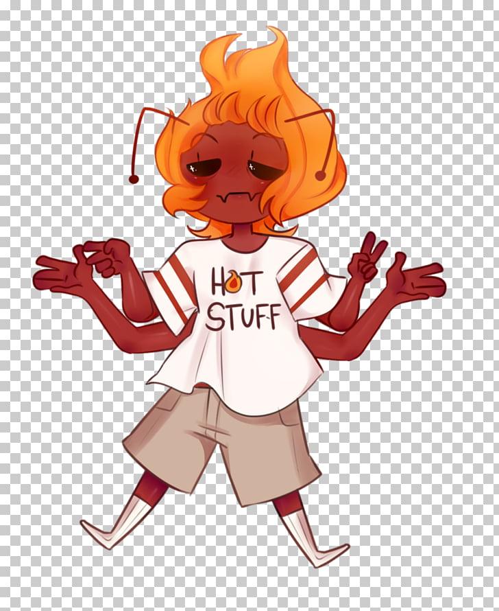 Fan Character Illustration Vertebrate , hot stuff PNG.
