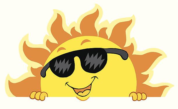 Best Hot Summer Day Cartoon Illustrations, Royalty.