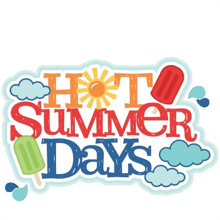 Hot Summer Day Clipart.