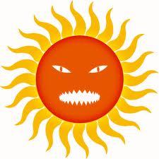 blazing hot sun clip art.