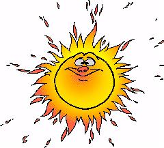Hot Sun Cliparts.
