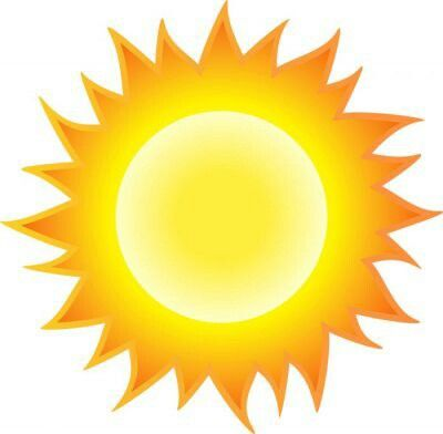 Hot Sun clipart #weather.