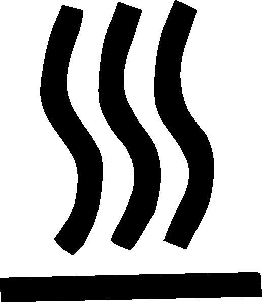 Hot Surface Symbol clip art Free Vector / 4Vector.
