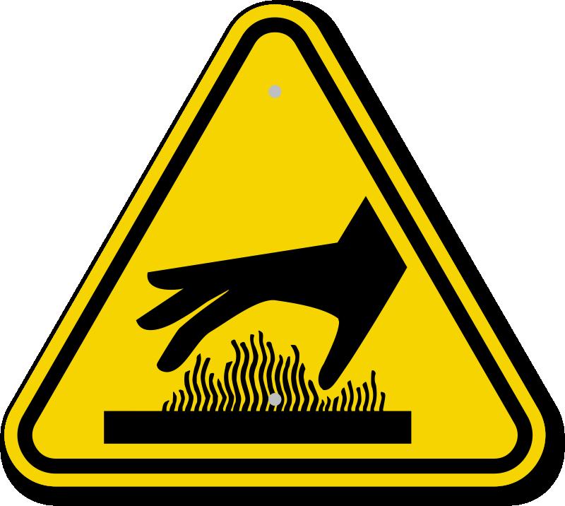 Hazard Sign Images.