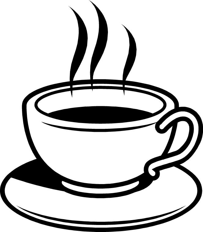 Clipart hot cup of tea.