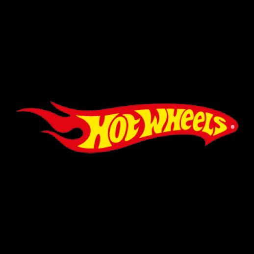 Hot Wheels toy logo Vector.