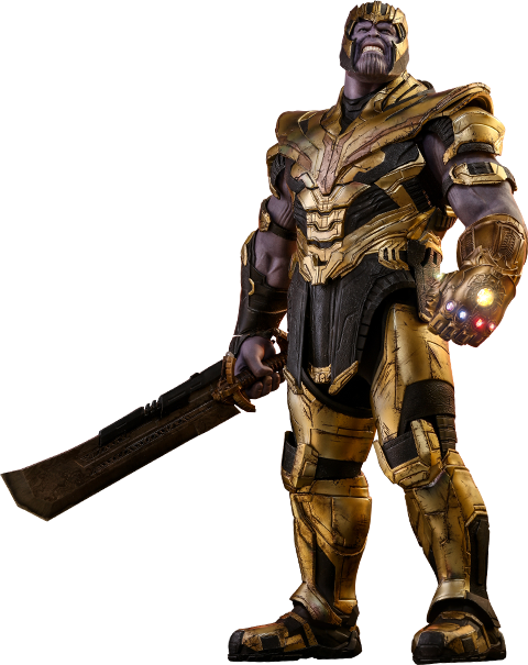 Marvel Thanos Sixth Scale Figure by Hot Toys.