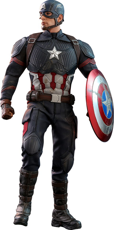 Marvel Captain America Sixth Scale Figure by Hot Toys.
