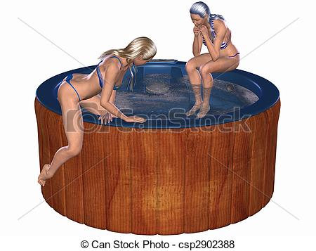 Hot tub Stock Illustrations. 282 Hot tub clip art images and.