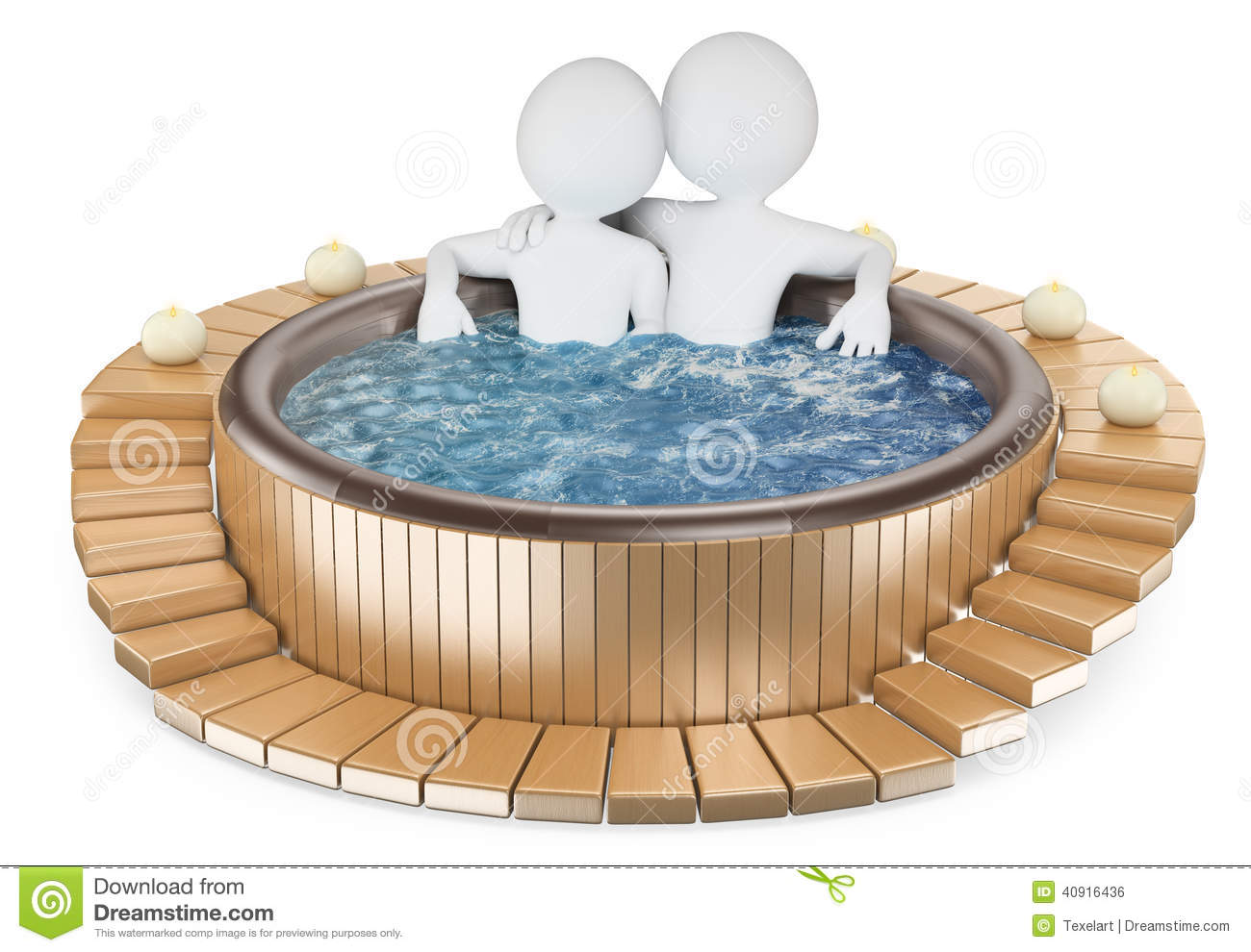 Jacuzzi Stock Illustrations.
