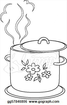 Boiling Water Steam Clipart#2057933.