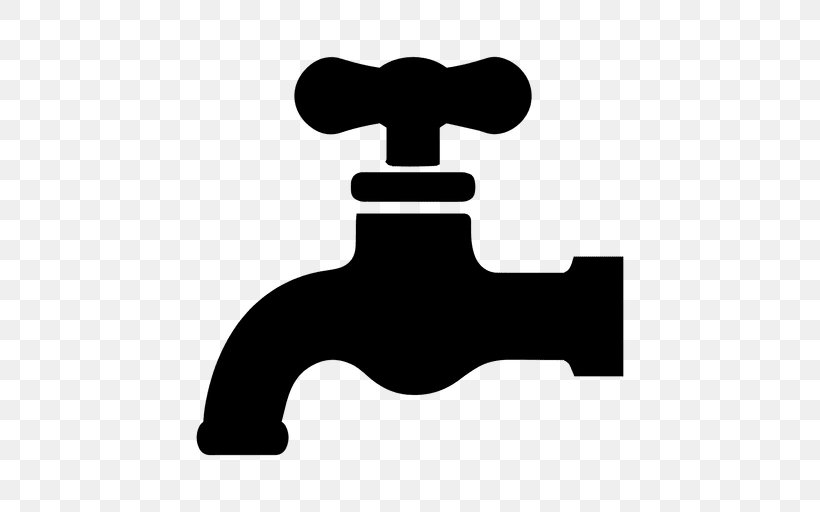 Tap Water Clip Art, PNG, 512x512px, Tap, Black, Black And.