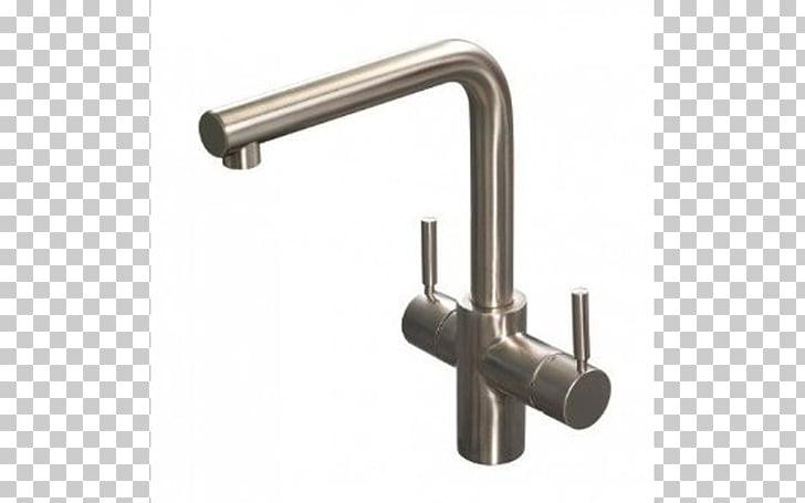 Tap Water Filter Instant hot water dispenser Brushed metal.