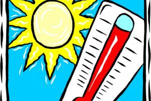 Hot weather clipart 1 » Clipart Station.