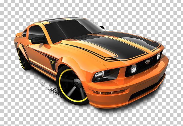 Ford Mustang Model Car Hot Wheels Die.