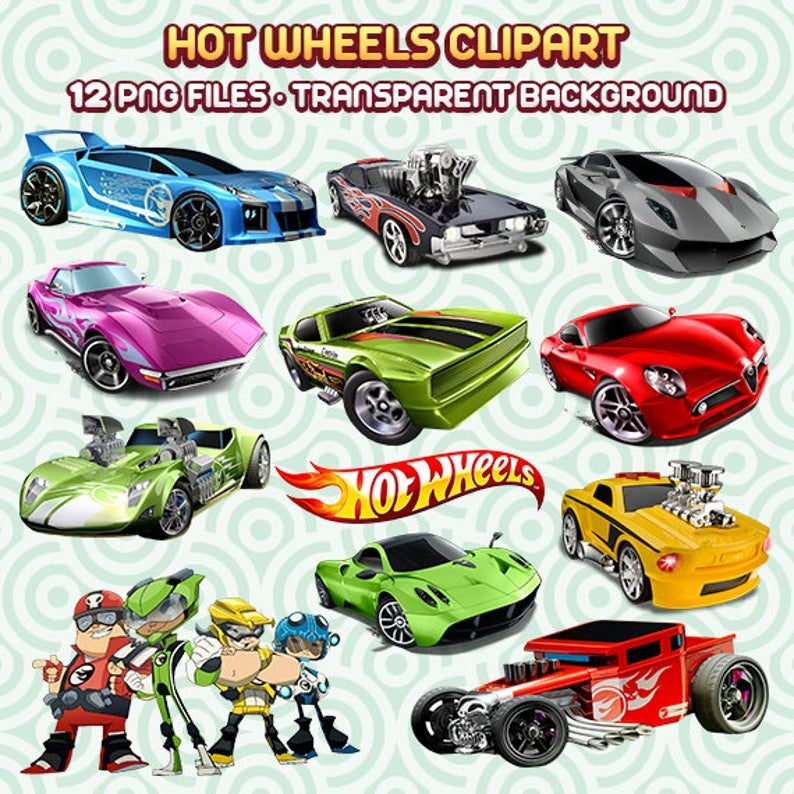 Hot Wheels PNG, Hot Wheels Clipart, Cars Images, Digital Scrapbooking, Hot  Wheels Files, Instant Download 14.