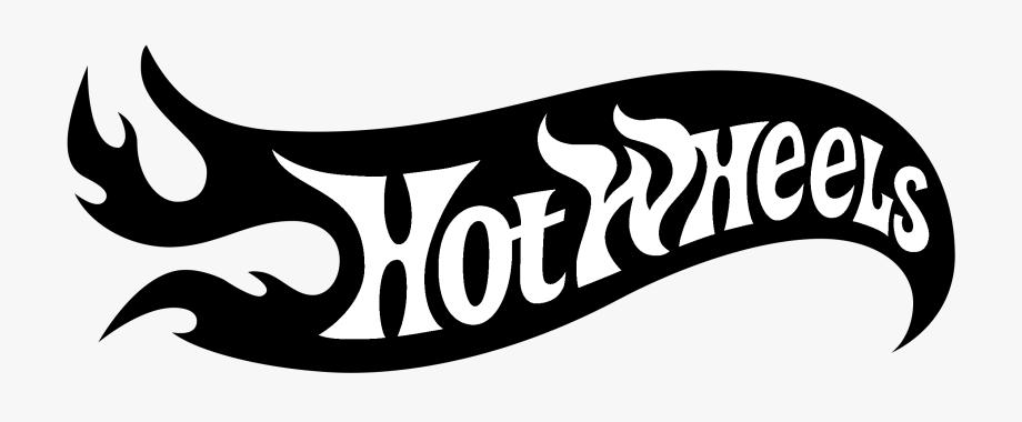 Hot Wheels Logo Black And White.