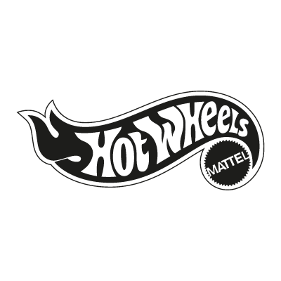 Hot Wheels Mattel vector logo.