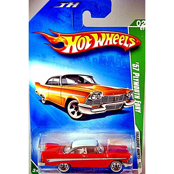Hot Wheels Treasure Hunts 1957 Plymouth Fury.