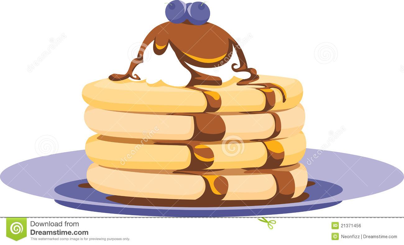 Hotcake Stock Illustrations.