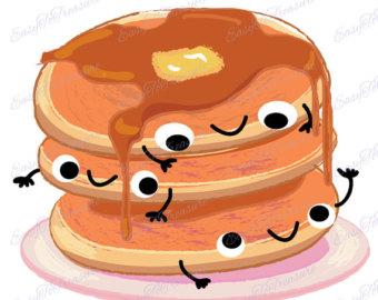 pancake clip art.