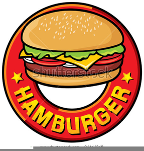 Hotdog And Hamburger Clipart.
