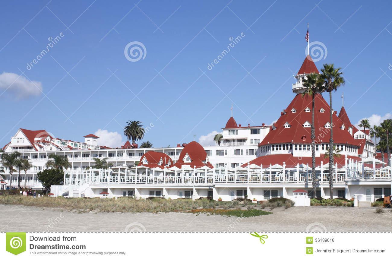 Hotel Del Coronado Royalty Free Stock Image.
