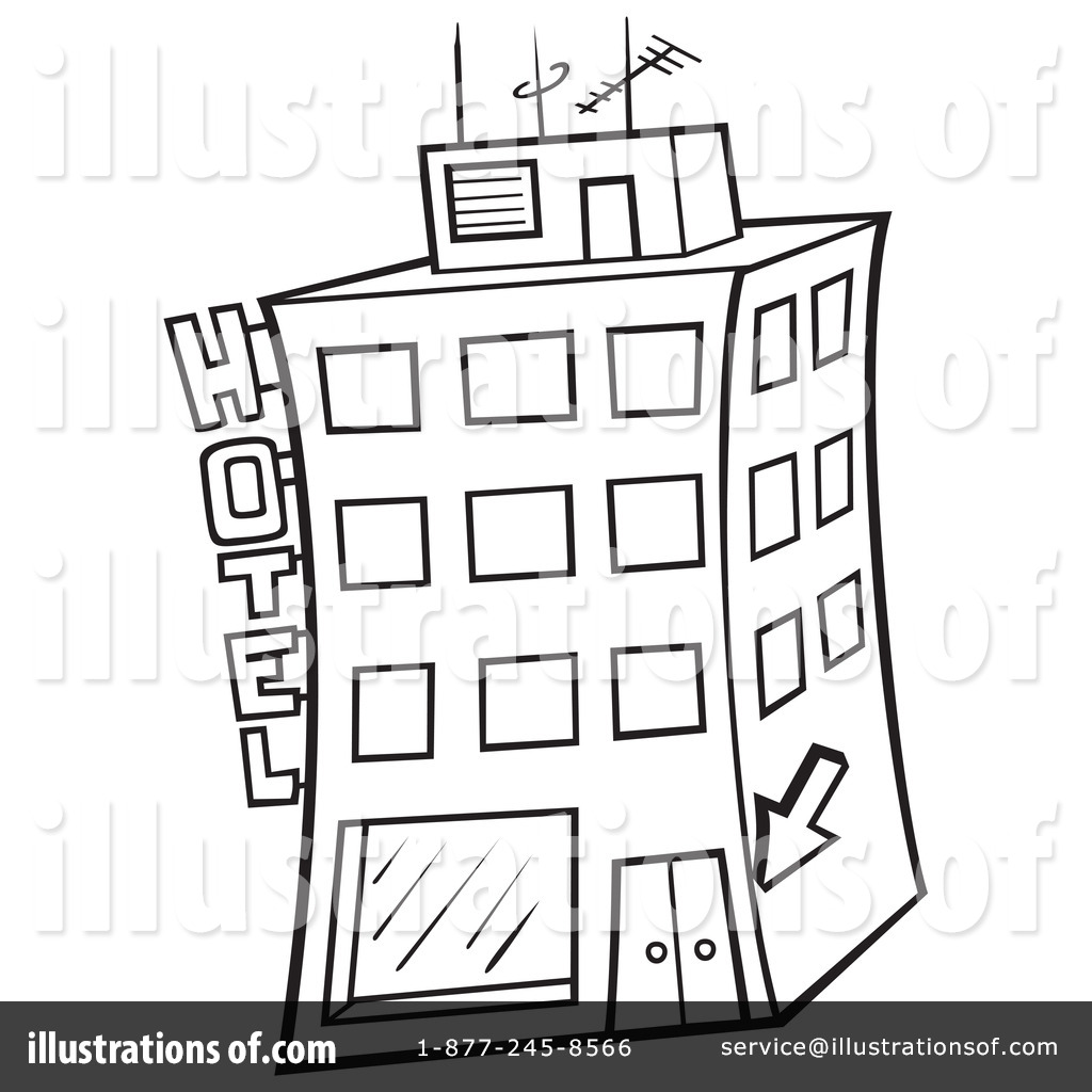 Hotel Clipart #1051407.
