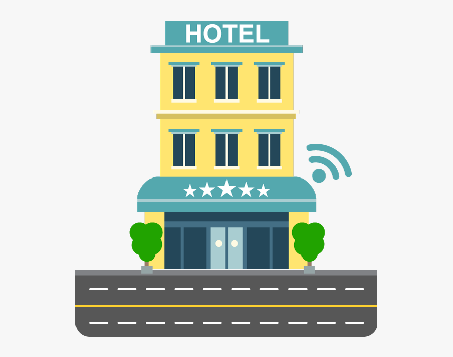 Hotel Building Clipart Png.