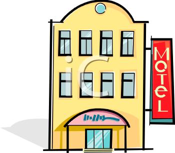 Clip Art Hotel Motel Clipart.