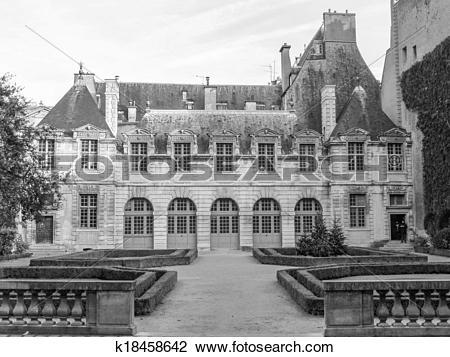 Stock Photo of Hotel de Sully Paris k18458642.
