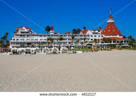 Hotel Del Coronado Stock Photos, Royalty.