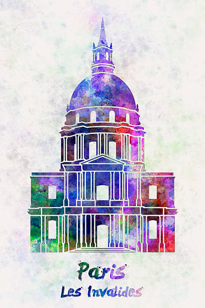 Hotel Des Invalides Clip Art, Vector Images & Illustrations.