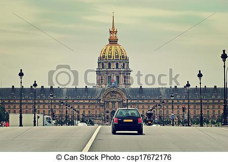 Picture of Les Invalides Paris, France.