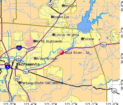 Gold River, California (CA 95670) profile: population, maps, real.