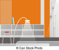 Stock Illustrations of Reception in is cared hotels.