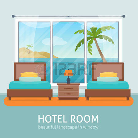 18,648 Hotel Room Cliparts, Stock Vector And Royalty Free Hotel.