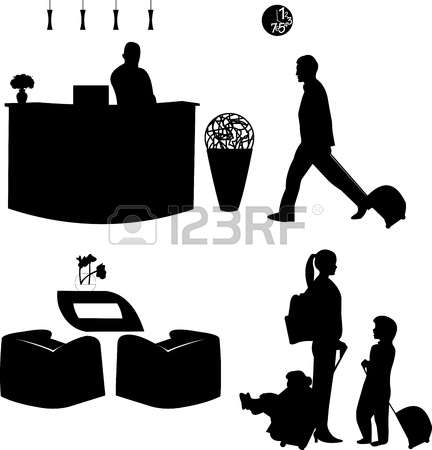 1,209 Hotel Hall Cliparts, Stock Vector And Royalty Free Hotel.