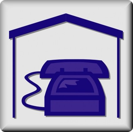 Hotel Icon In Room Phone Clipart Picture Free Download.
